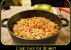 Chop Suey Dinner .... Ready to eat!!